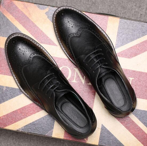 Brogue Vintage Oxfords Dress Shoes