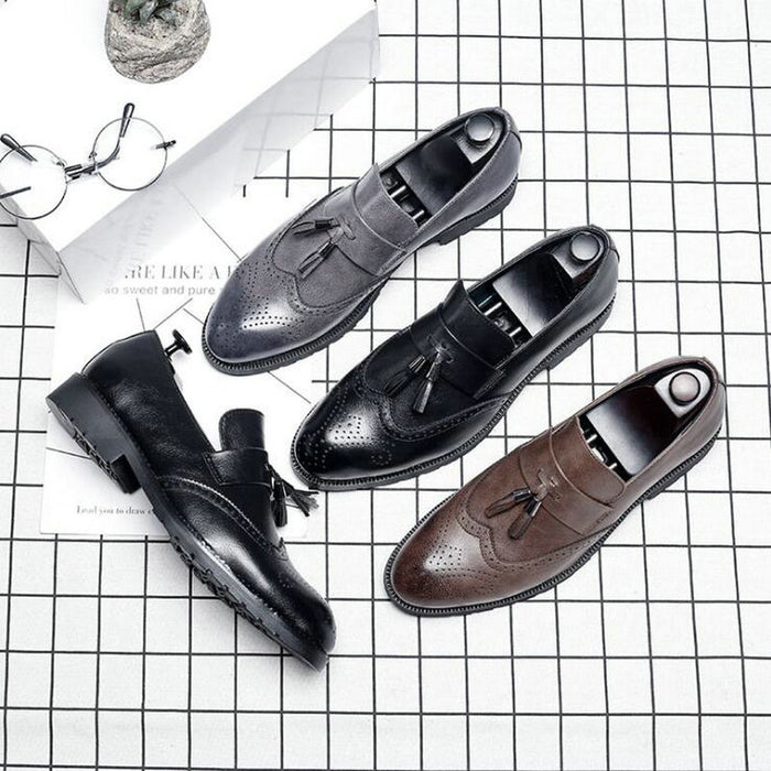 Italian tassel Dress Shoes