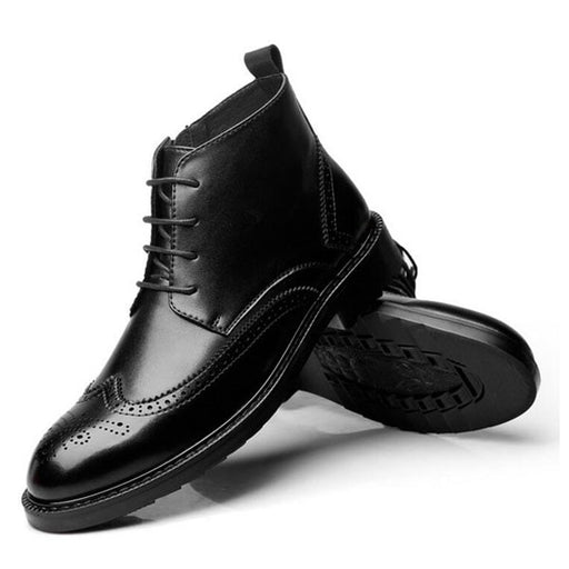 Dress Wingtip Boots
