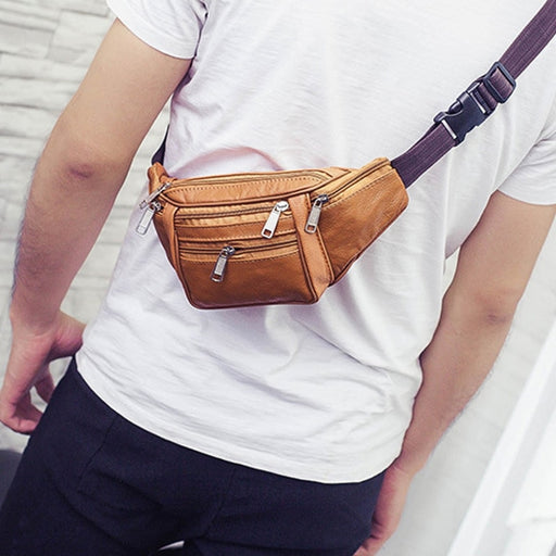 Leather Fanny Waist Pack