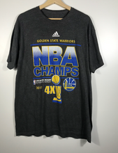 Load image into Gallery viewer, 2015 Adidas Golden State Warriors Tee - XL