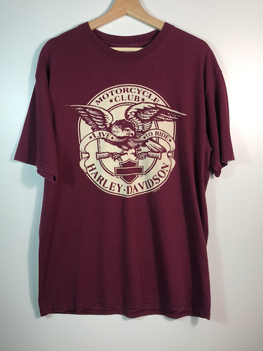 Smoky Mountain Harley Tee - L
