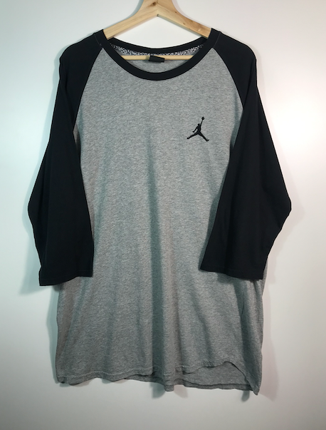 Air Jordan Quarter Sleeve Tee - XL