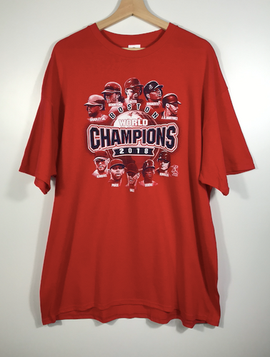 2018 World Champions Boston Red Sox Tee - XL