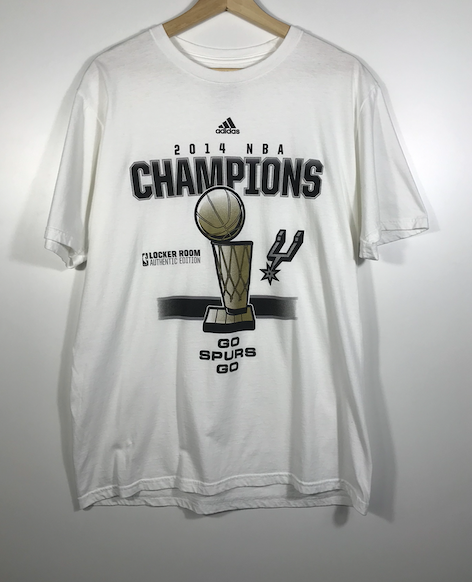 2014 NBA Champs Spurs Tee - L