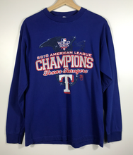 Load image into Gallery viewer, 2010 Texas Rangers Champions Long Sleeved Tee - S