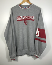Load image into Gallery viewer, Oklahoma University Crewneck - XL