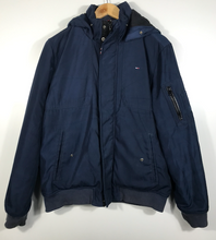 Load image into Gallery viewer, Tommy Hilfiger Hooded Jacket - M