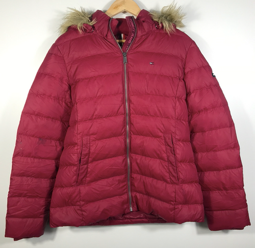 Tommy Hilfiger Hooded Puffer Jacket - M