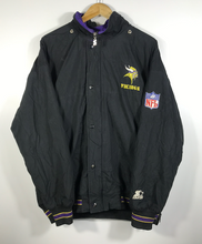 Load image into Gallery viewer, Minnesota Vikings Starter Jacket - L