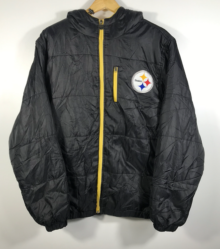 Pittsburgh Steelers Puffer Jacket - S