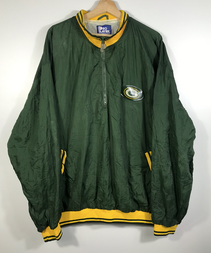 Greenbay Packers Quarter-Zip Windbreaker - XL