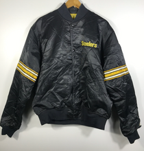 Load image into Gallery viewer, Pittsburgh Steelers Starter Jacket - S