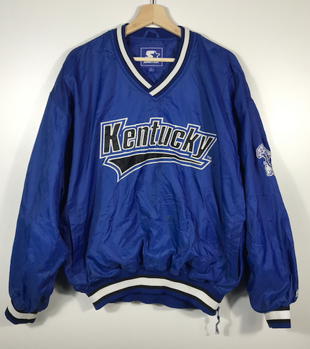 University of Kentucky Starter Pull-Over - L