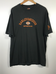 Embroided Harley Davidson Motorcycles Tee - XL