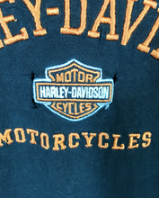 Load image into Gallery viewer, Embroided Harley Davidson Motorcycles Tee - XL