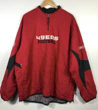 Load image into Gallery viewer, San Francisco 49ers Quarter-Zip Spray - XL