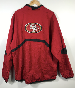 San Francisco 49ers Quarter-Zip Spray - XL
