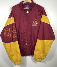 Load image into Gallery viewer, USC Trojans Starter Windbreaker Jacket - L