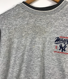 Embroidered 1998 NY Yankees World Series Crewneck - S