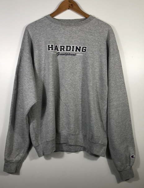 Harding Grandparent Crewneck - L