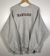 Load image into Gallery viewer, Vintage Embroidered Harvard Crewneck - XL