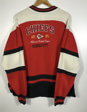 Load image into Gallery viewer, Embroidered Kansas City Chiefs Crewneck - M