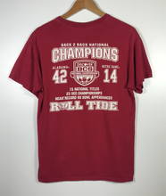 Load image into Gallery viewer, 2012 Alabama Champions Tee - S