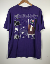 Load image into Gallery viewer, Northwestern Big Ten Champions Tee - XL