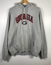 Load image into Gallery viewer, Embroidered Georgia Bulldogs Hoodie - XL