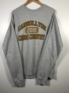 Carrollton Cross Country Crewneck - L