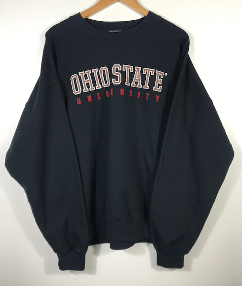 Embroidered Ohio State Crewneck - XL