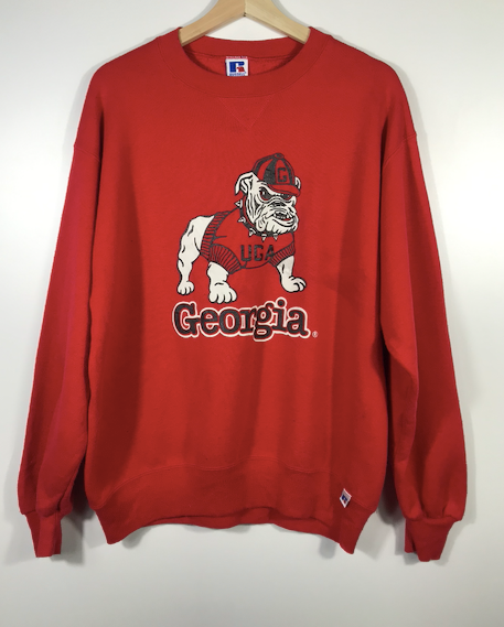 Russell Athletic Georgia Bulldogs Crewneck - M