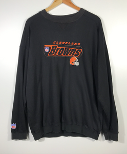 Embroidered Cleveland Browns Crewneck - XL