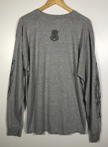 Police Harley Davidson Long Sleeved Tee - XL