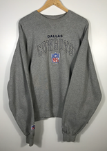 Load image into Gallery viewer, Embroidered Dallas Cowboys Crewneck - XL