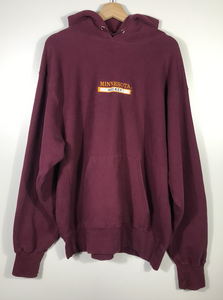 Embroidered Minnesota Hockey Hoodie - XL