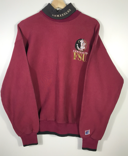Embroidered Florida State University Turtleneck  - S