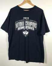 Load image into Gallery viewer, 2014 Uconn Huskies National Champions Tee - XL