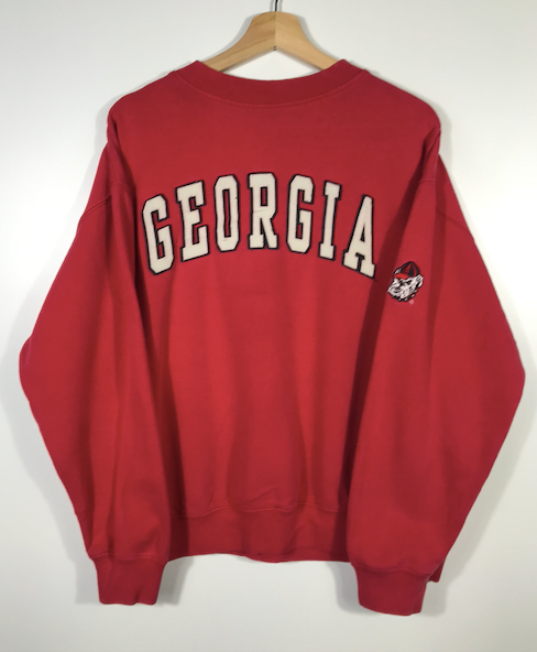 Georgia Bulldogs Crewneck - S