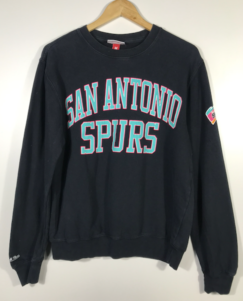 Mitchell and Ness San Antonio Spurs Crewneck - S