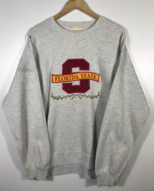 Embroidered Florida State Crewneck - XL