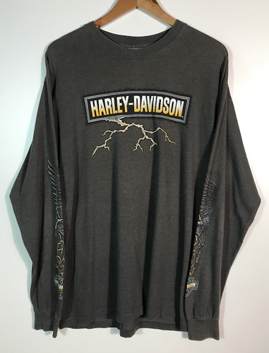 Decatur Long Sleeved Harley Tee - XL