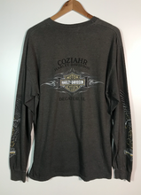 Load image into Gallery viewer, Decatur Long Sleeved Harley Tee - XL