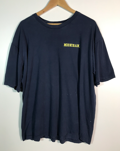 Embroidered Michigan Tee - XL
