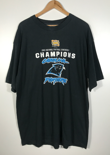 2003 Carolina Panthers Super Bowl Tee - 3XL