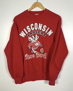 Wisconsin Badgers Rose Bowl Crewneck - S