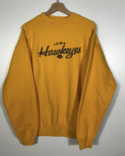 Load image into Gallery viewer, Embroidered Iowa Hawkeyes Crewneck - L