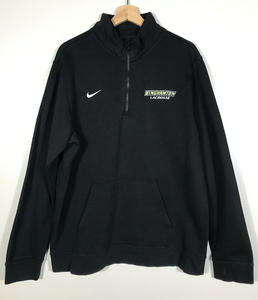 Embroidered Nike Binghamton Lacrosse Quarter-Zip - XL