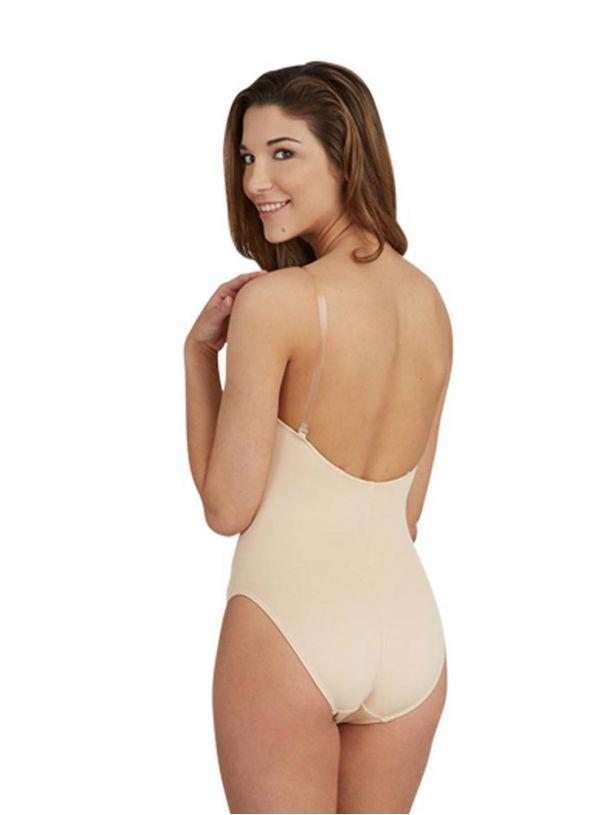 Adult Camisole Leotard with Clear Transition Straps Leotards Capezio